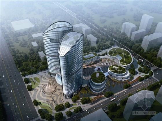[四川]现代风格科研中心规划及建筑设计(知名设计院)