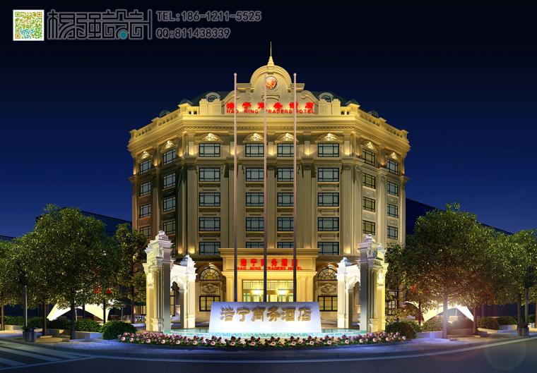 哈尔滨欧式建筑外观改造设计—杨强设计