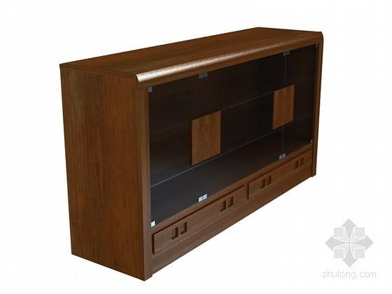 中式餐柜3D模型下载
