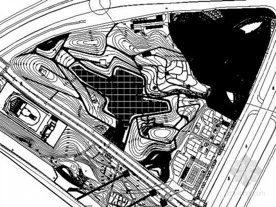 [湖南]田园风情滨河公园景观设计施工图(含效果图)