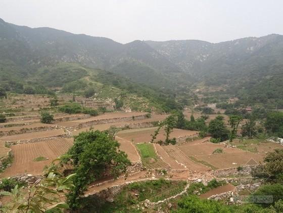 [山东]中等易发性特大型泥石流治理设计方案
