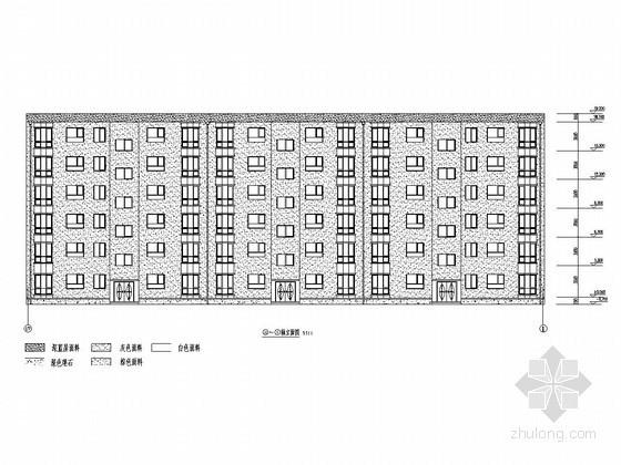 [学士]六层框架结构住宅毕业设计(含建筑图、结构图、计算书)