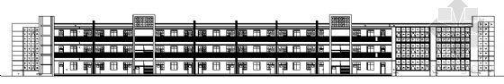 某三层小学教学楼建筑施工图