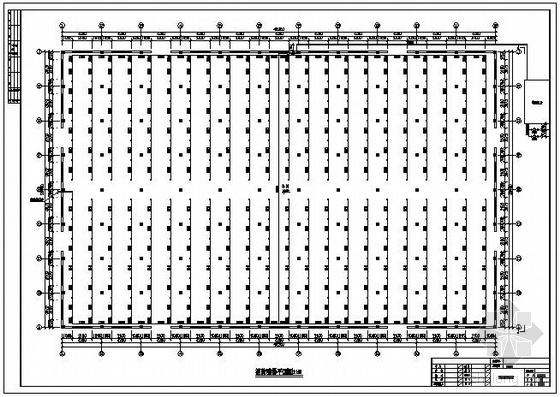 某厂房喷淋系统设计图
