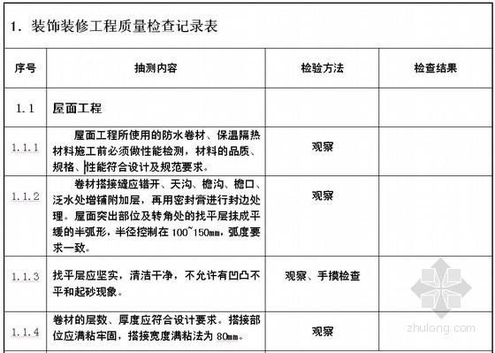 [天津]砖混结构多层住宅楼装饰装修施工方案