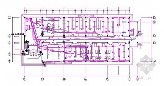 小型办公楼安装工程预算(施工图+工程量计算表+报价单)