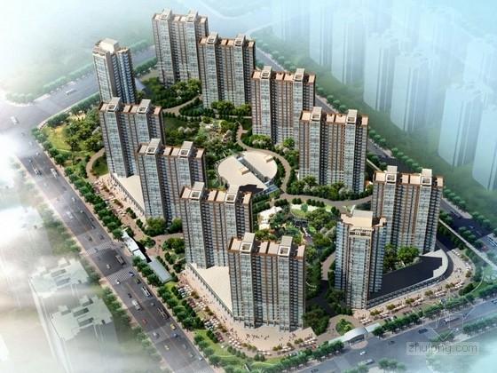 [内蒙古]现代风格住宅区规划及单体设计方案文本
