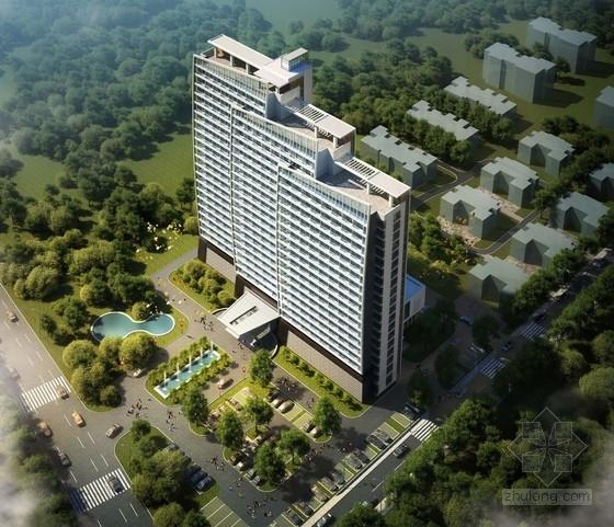 [山东]某23层商务度假酒店建筑方案文本(含PPT)