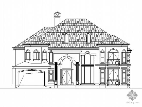 [安徽省芜湖市]某二层A型别墅建筑施工图