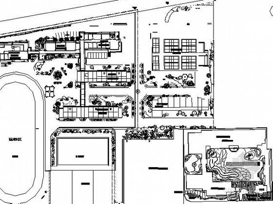 [临安]某小学校园景观设计施工图