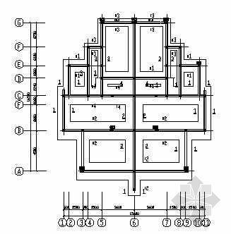 某砖混三层别墅结构图纸
