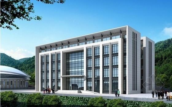[湖南]综合办公楼安装工程量清单计价实例(附图纸)