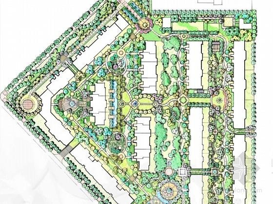 [长春]世界级公园式居住区景观扩初规划设计方案(著名景观公司)