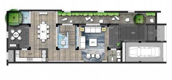 [安徽]名师设计新中式风格度假村别墅室内设计方案