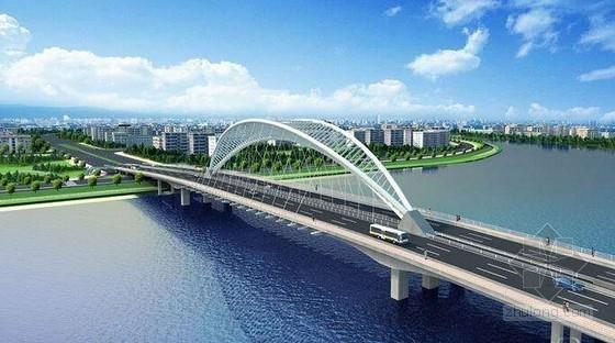 [广东]含136m倒三角钢管拱桥市政道路工程图纸552张(电力交通绿化照明消防)