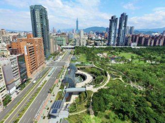 台湾大安森林公园