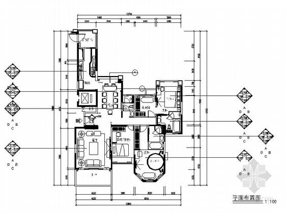[广州]自然生态园现代三居室装修图(含效果)