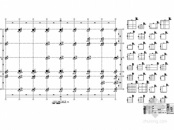 [北京]地上五层框架结构行政楼结构施工图