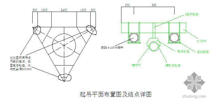 某工业项目烟囱及塔架倒装安装施工方案