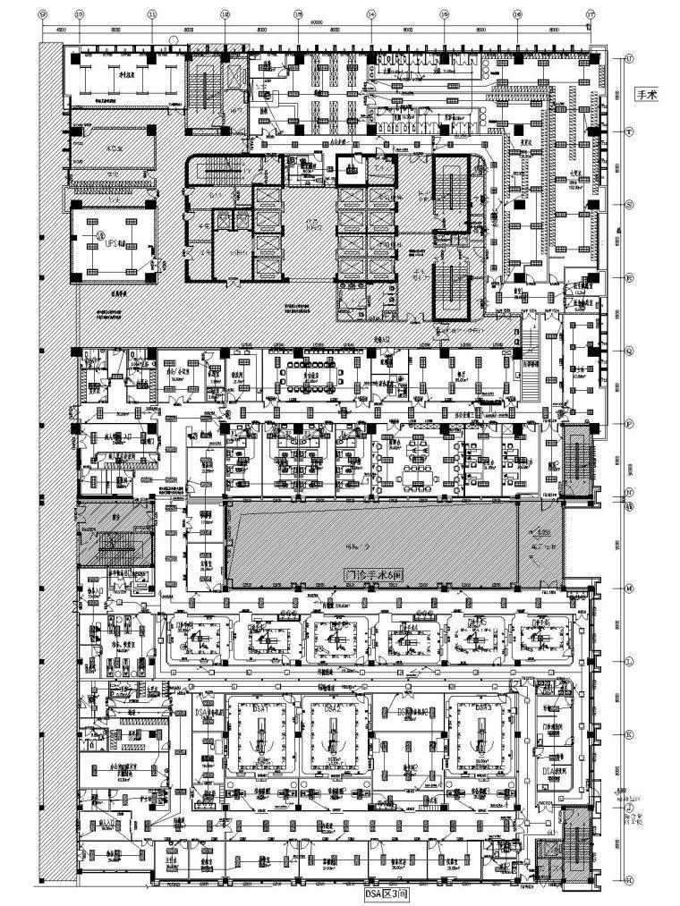 ICU净化系统资料下载-[江苏]大型医疗中心净化工程电气施工图(大院最新)