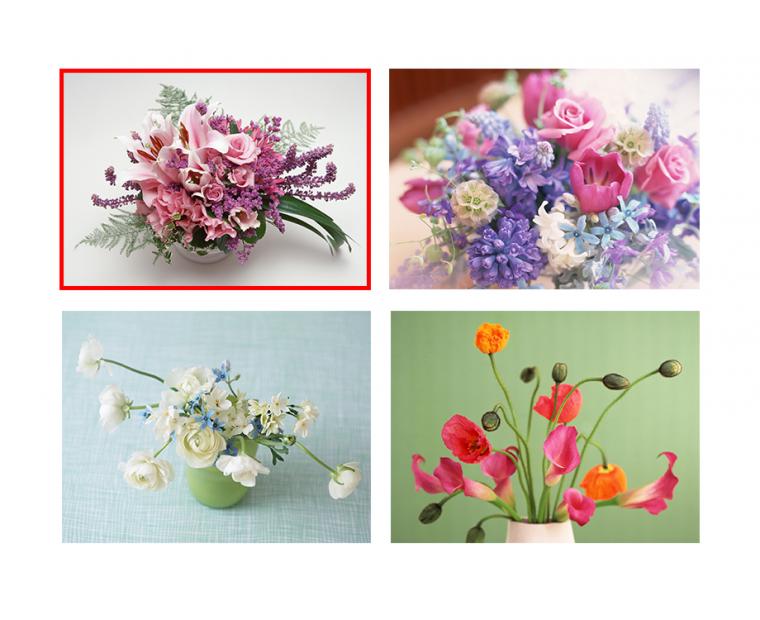 PS新手教程 蒙板绘制优雅趣味的花艺字体效果