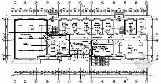 农场办公楼电气施工图纸