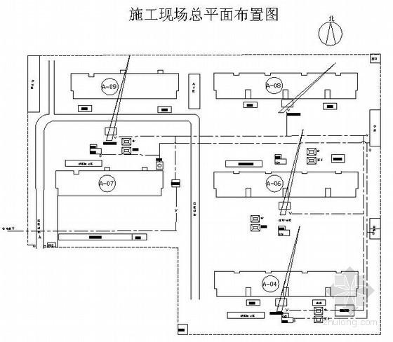 [河北]砖混结构住宅楼施工组织设计(条形基础 赶浆法)