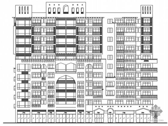 [襄樊市]某新城十一层住宅楼建筑施工套图