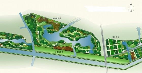[上海]城市外环道路景观绿化设计方案