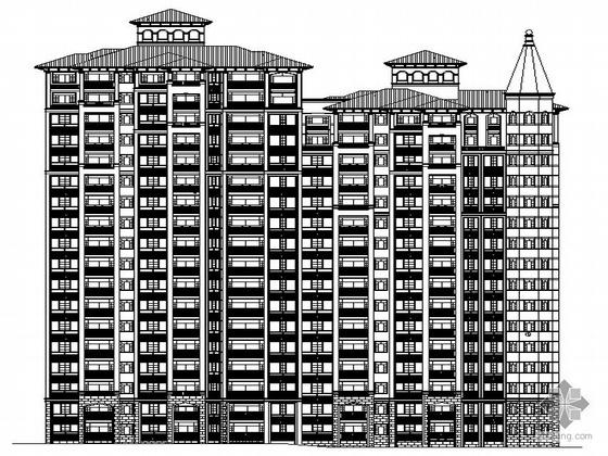 [西宁]某香格里拉城市花园16号楼建筑施工图(带完整节能设计)