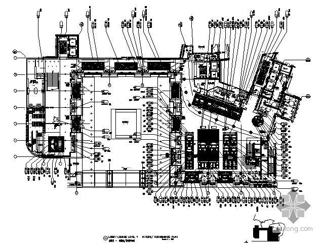 [北京]奢华五星级酒店部分施工图(含实景)