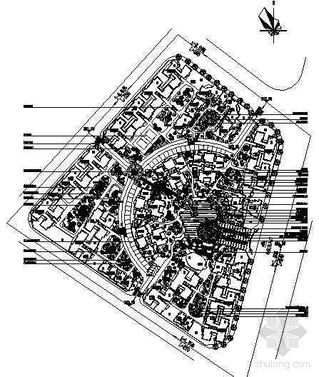 [重庆]小区室外环境工程景观设计施工图