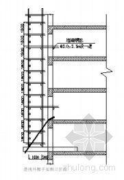 西安某勘察院高层科研楼外脚手架工程施工方案