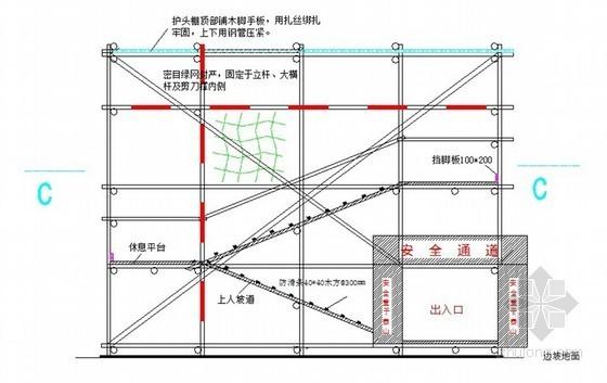 [安徽]高层综合楼双排落地式脚手架施工方案
