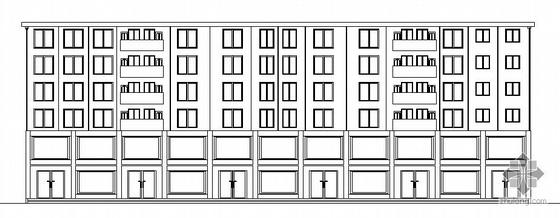 成都某二层底框住宅楼建筑施工图(毕业设计)