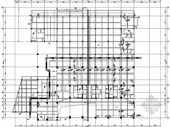 二十三层门式刚架结构办公楼结构施工图