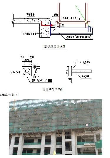 [浙江]大酒店型钢悬挑脚手架专项施工方案(实例图)