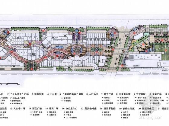 [上海]北欧风情广场景观概念设计方案