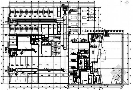[湖南]奥迪4S店展厅暖通施工图