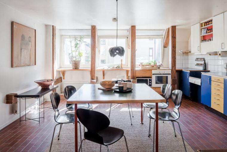 斯德哥尔摩顶层公寓改造-1 (10)