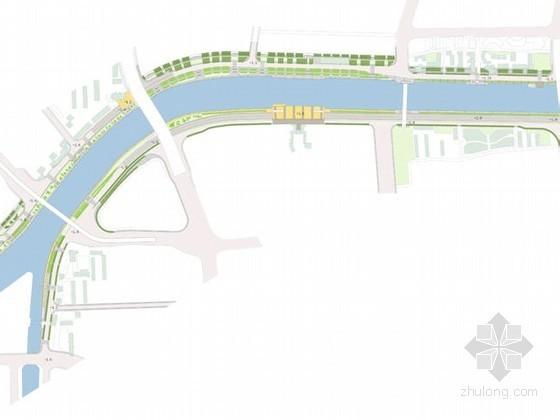 [天津]某滨水河岸局部景观初步设计方案