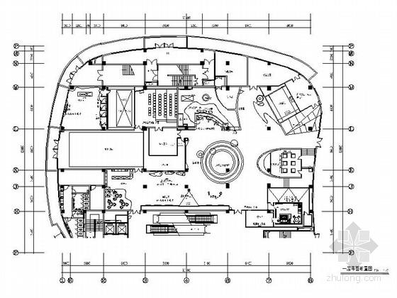 [江苏]行业顶尖设计师智慧教育体验馆室内设计CAD施工图(含全套方案)