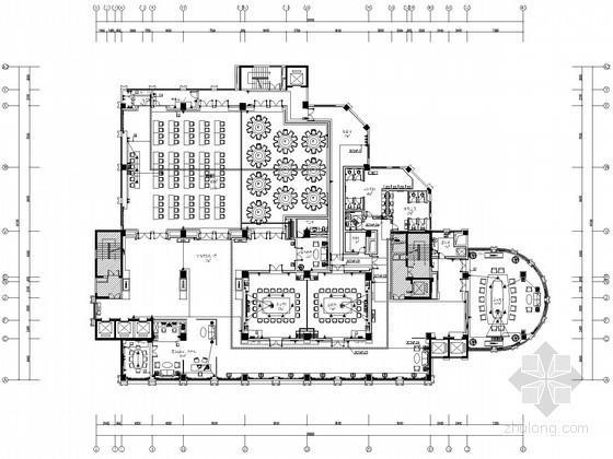 [四川]某四星级酒店精装修电气图纸