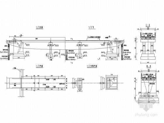 U形混凝土衬砌渠道设计图资料下载-3×13普通钢筋混凝土空心板桥设计图(柱式墩 U型台配扩大基础)