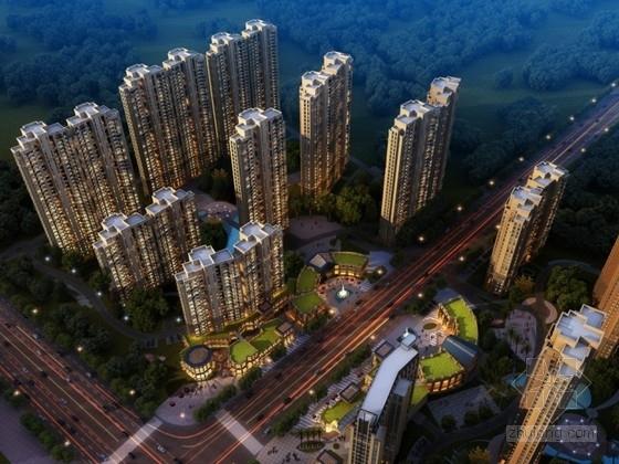 [武汉]某欧式小区规划及单体设计方案文本(2份方案)