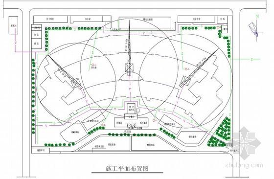 [湖南]框架结构弧形教学楼施工组织设计