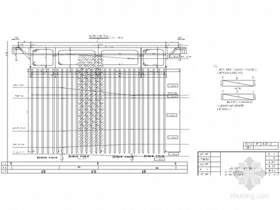 (8+14.5+14.5+8)m四孔框架中桥竣工图(附施工总结)