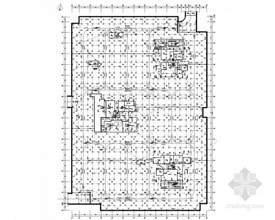 [贵阳]大型多栋安置房弱电系统电气施工图纸91张
