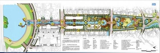 [江苏]城市中央公园景观概念设计方案