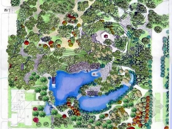 [北京]公园西区园林环境改造方案设计